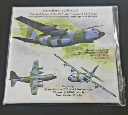RAF Hercules Metal Magnet