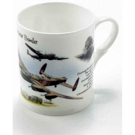 RAF Lancaster Bomber Bone China Mug
