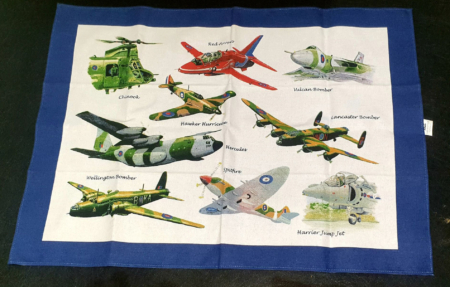 RAF Planes Tea Towel
