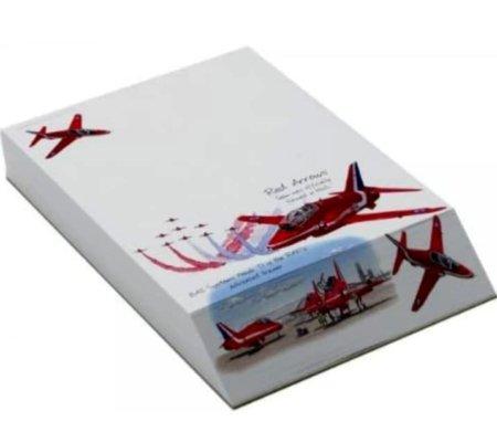RAF Red Arrows A6 Slant Pad Jotter