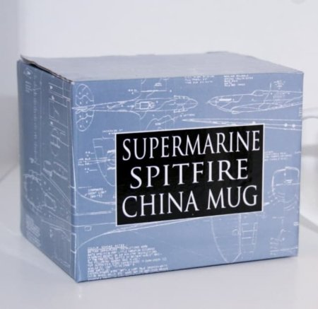 RAF Spitfire Bone China Mug Set