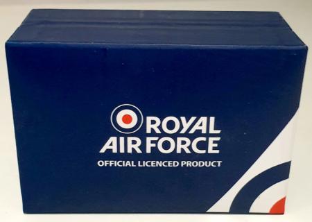 RAF Wings Tie Slide Boxed (Closed)