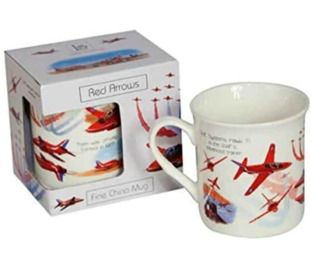 Red Arrows Bone China Mug