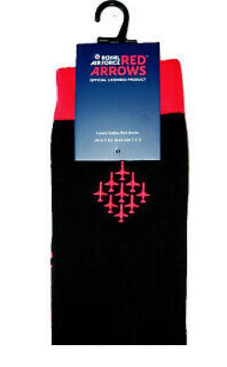 Red Arrows Diamond Nine Socks (Packaged)