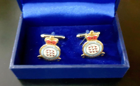 Red Arrows Eclat Squadron Crest Boxed Cufflinks